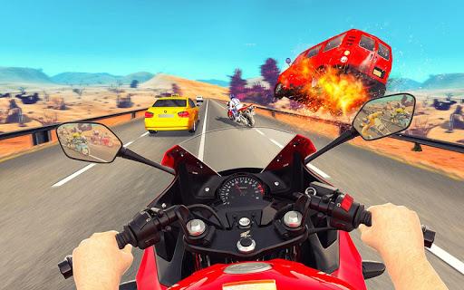 Bike Attack Race : Highway Tricky Stunt Rider 5.1.03 screenshots 9