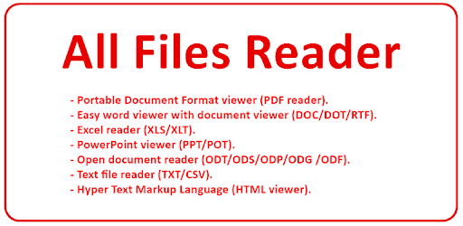 All File Viewer with Document Reader - by NoSoft Apps