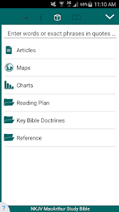 NKJV MacArthur Study Bible APK Download – apkzz com