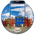 Venice Town 3D Theme&live wallpaper (VR Panoramic) Icon