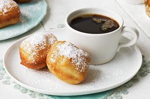 Photo: Sour Cream Beignets by Kraft Foods. Find this recipe here:http://kraft.us/HDyRcM