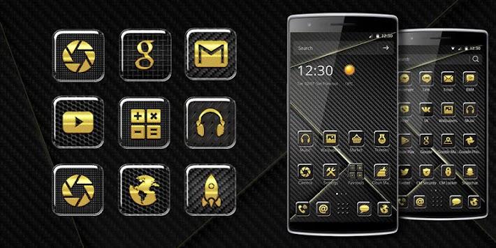download hi tech carbon fiber theme apk latest version app for
