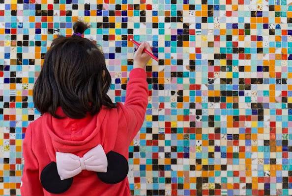 Il muro multicolore di Tefnut_Simo