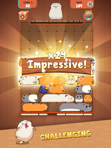 Haru Cats: Slide Block Puzzle filehippodl screenshot 22