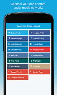 SocialPilot: Social Media Tool - náhled