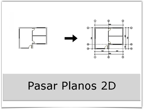Pasar Planos 2D
