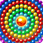 Bubble Shooter Planet Icon