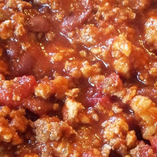 Slow Cooker Chicken and Sausage Chili.