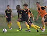 Anderlecht geeft de 18-jarige linksback Thierry Lutonda een contractverlenging