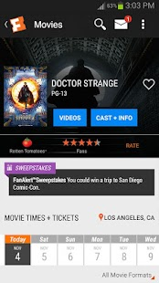Fandango Movies Screenshot 1