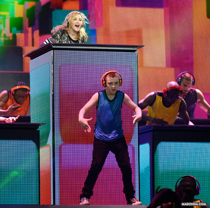 Photo: MDNA TOUR Opening Night - Photography by Kevin Mazur