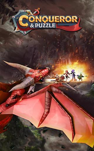 Conqueror & Puzzles : Match 3 RPG Games 1.3.0 Mod screenshots 1