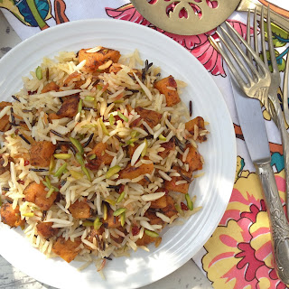 Persian-Style Jewelled Butternut Squash Rice