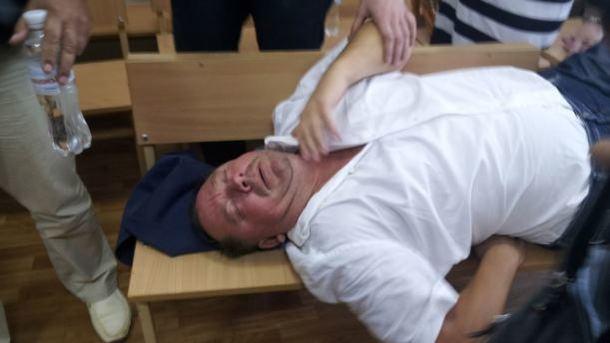 """Скандальный ректор Петр Мельник. Фото: """"Радио Свобода"""""""