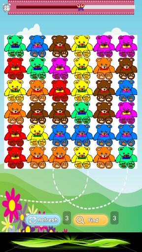 Color Bears: Match Game