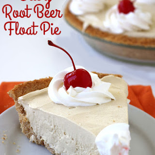 Easy Root Beer Float Pie.