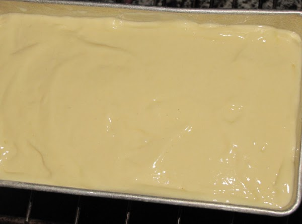 Pour into baking pan and bake 1 hour and 15 minutes or until done.