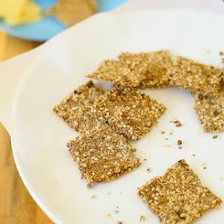 Seeded Dukkah Crackers.