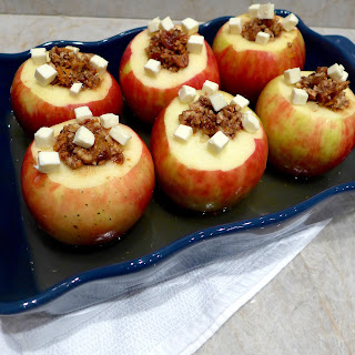 Date Nut Stuffed Baked Apples.
