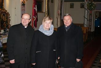 Photo: ks. Roman Jagiełło, P. Grażyna Borek-Wicewojewoda Podkarpacki, P. Piotr Przytocki-Prezydent Krosna