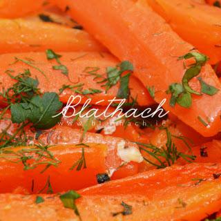 Honey-Glazed Roasted Carrots.