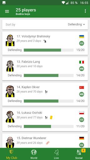 Hattrick Football Manager Game apktram screenshots 2