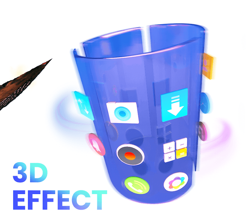 CM Launcher 3D - Theme, Wallpapers, Efficient Screenshot 2