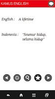 Screenshot of INDONESIA - ENGLISH DICTIONARY