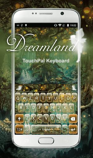 Free Dreamland Keyboard Theme