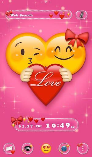 Cute Theme Emoji Love 1.0.0 Windows u7528 1