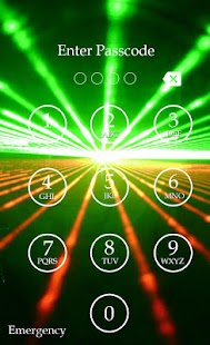 Laser Light Passcode Lock screenshot
