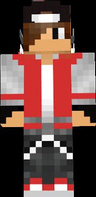 nuevo skin creado por su dueño canal de youtube Raperito 7