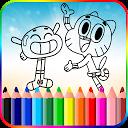 Gumballl Coloring for Darwin APK
