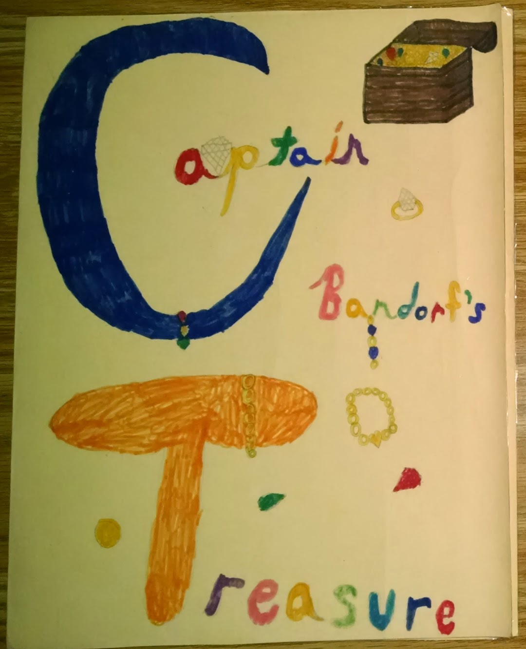 Captain Bandorf's Treasure cover