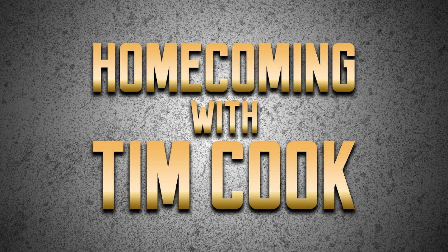 Watch Homecoming with Tim Cook live