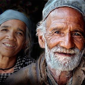 Joyous couple by Kaushik Dolui - People Couples ( senior group, joyous-kaushik )