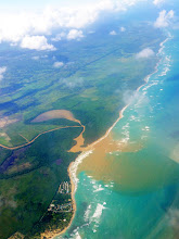Photo: Aerial view of Uvero Alto, from Delta Flight 482 (JFK - Punta Cana) over North Atlantic Ocean