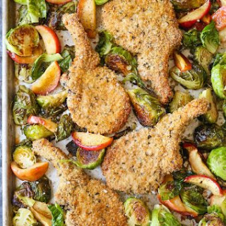Sheet Pan Shake and Bake Pork Chops