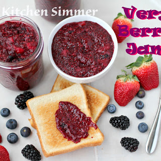Very Berry Jam with Chia Seeds