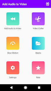 Add Audio to Video : Audio Video Mixer 1