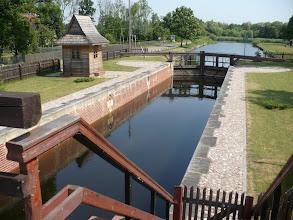 Photo: Pierwsza na południu, śluza na Kanale Augustowskim