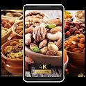 Nuts delicious healthy food Wallpaper icon