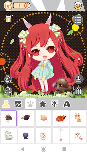 Cute Girl Avatar Factory 1.0.2 Mod screenshots 4