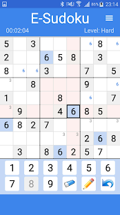 E-Sudoku- screenshot thumbnail