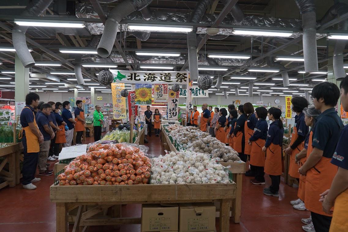 うまんちゅ市場・朝礼風景