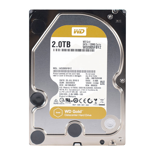 ổ cứng HDD WD 2TB WD2005FBYZ Sata