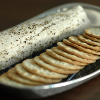 """Peppered Cashew Goat """"Cheese"""""""
