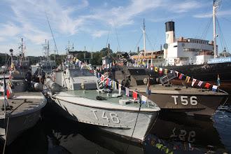 Photo: T 46 och T 56 Motortorpedbåtar.