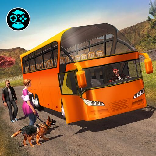 Offroad Tracks Bus Racing: Driving games
