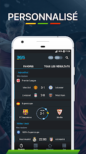 365Scores - Resultats en direct Capture d'écran